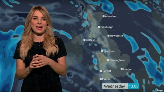 British weather presenter squeezes 12 'Star Wars' puns into