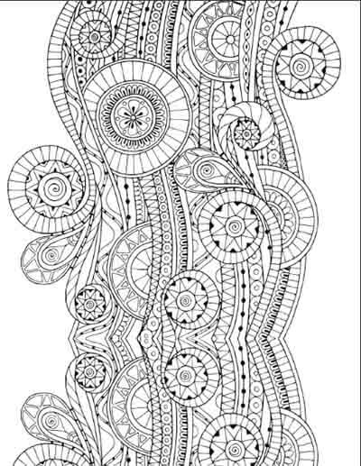 Art Meditation Therapy 18 Free Coloring Pages For Adults