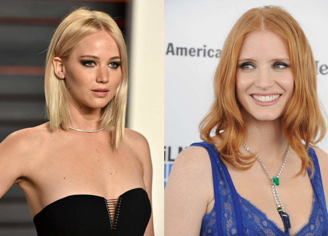 For the record: There is no feud between Jessica Chastain and Jennifer Lawrence
