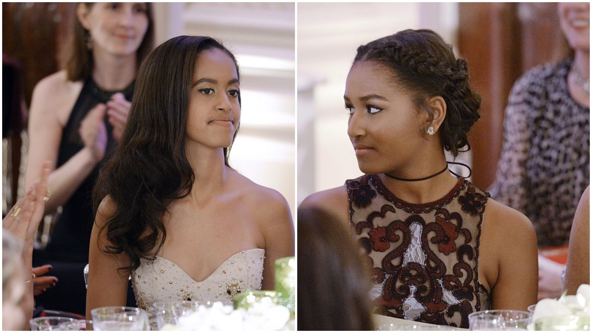 Let's talk about how amazing the Obama girls looked at their first state dinner