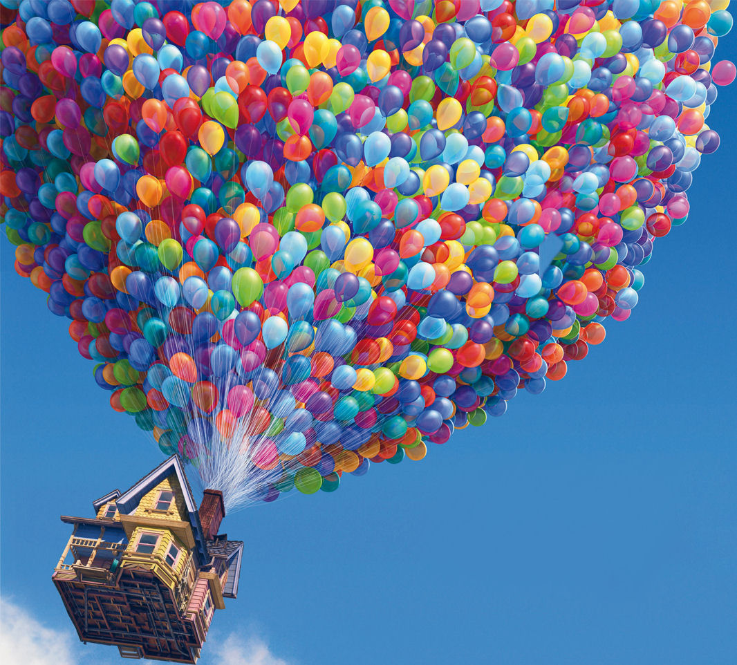"""The """"Up"""" Hot Air Balloon Is REAL"""
